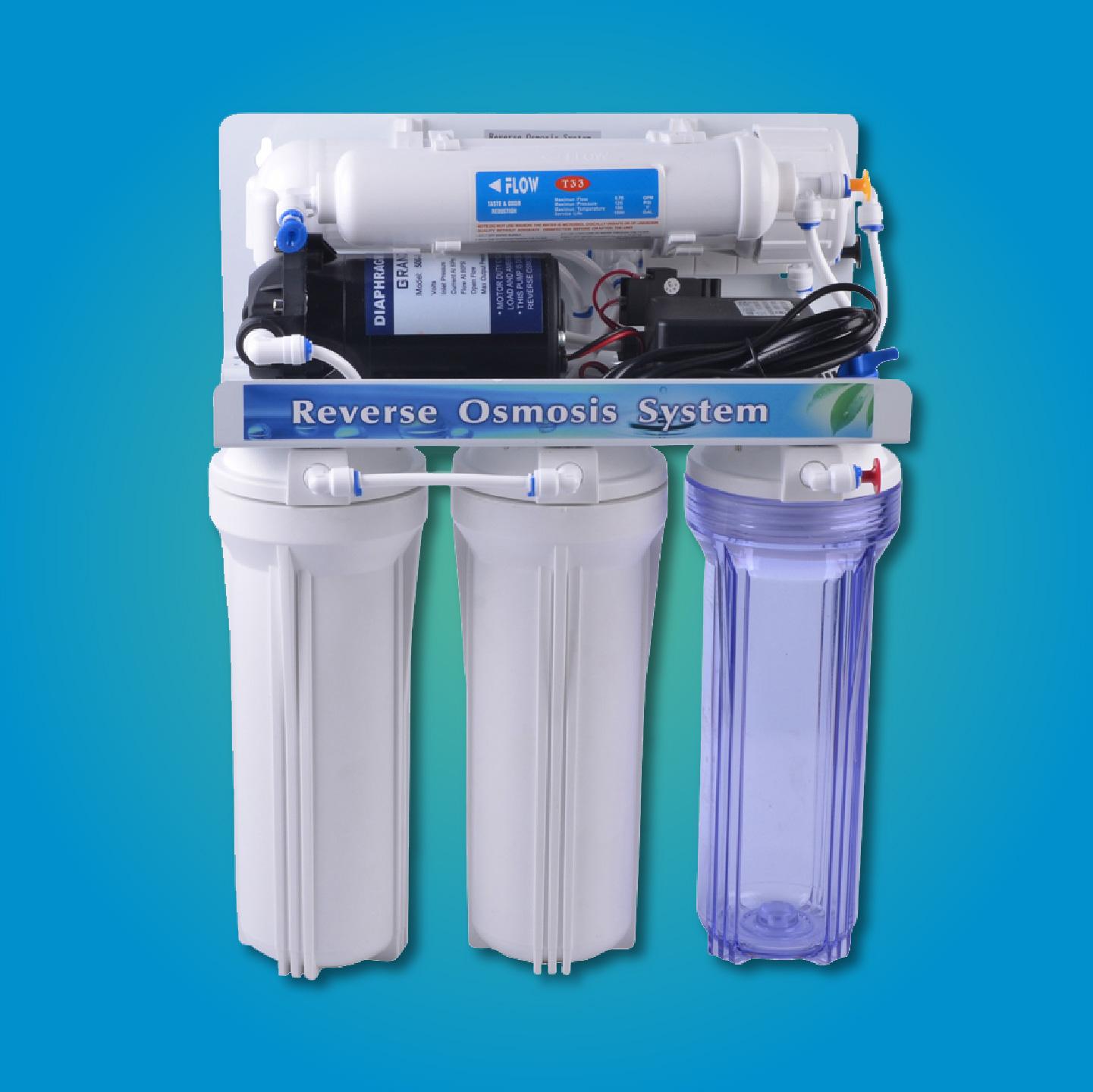 Sistema De ósmosis Inversa De 5 Etapas Global Filter
